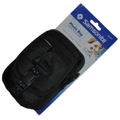 Samsonite Small Digital Camera Bag 4 x 6 x 2 1/2