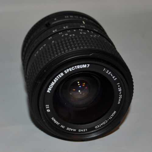 Promaster 28-70mm SLR lens for Canon
