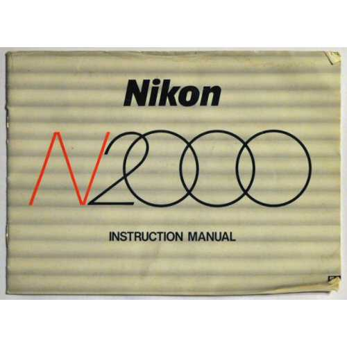 N2000 Instruction Manual