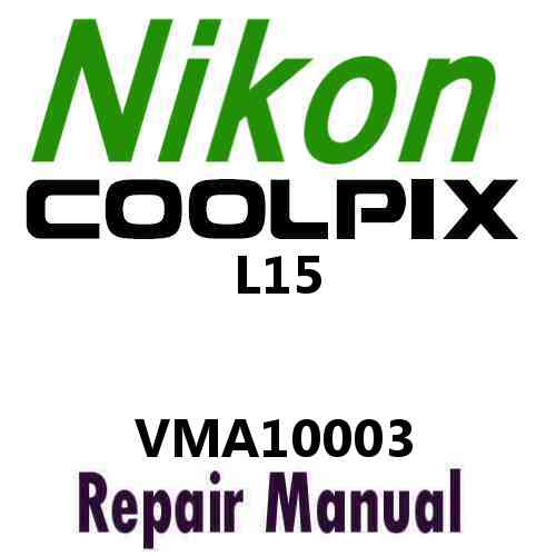 Nikon Coolpix L15 Service Manual PDF
