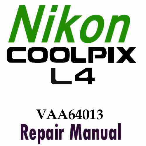 nikon coolpix l4 service manual pdf nikon coolpix point shoot repair ...