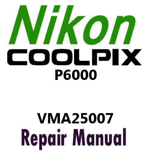 Nikon Coolpix P6000 Service Manual PDF