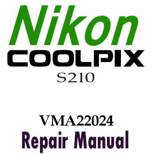 Nikon Coolpix S210 Service Manual PDF