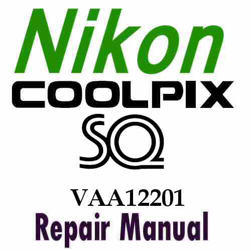 Nikon Coolpix SQ Service Manual PDF