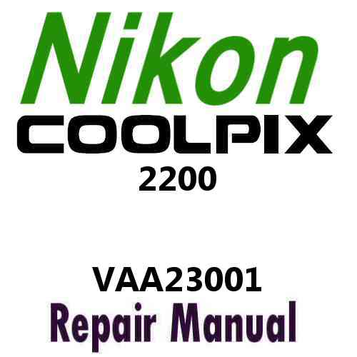 Nikon Coolpix 2200 Service Manual PDF