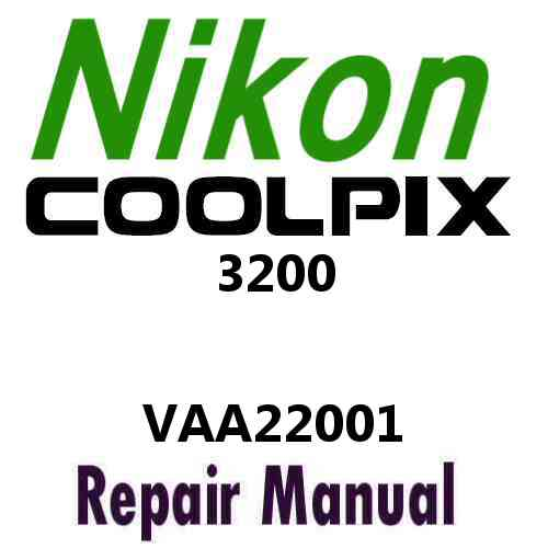 Nikon Coolpix 3200 Service Manual PDF