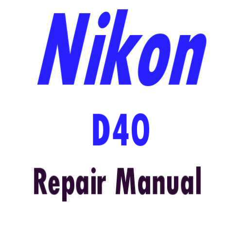 nikon d40 service repair manual parts list catalog Nikon D40 Night Shots Nikon D40 Camera