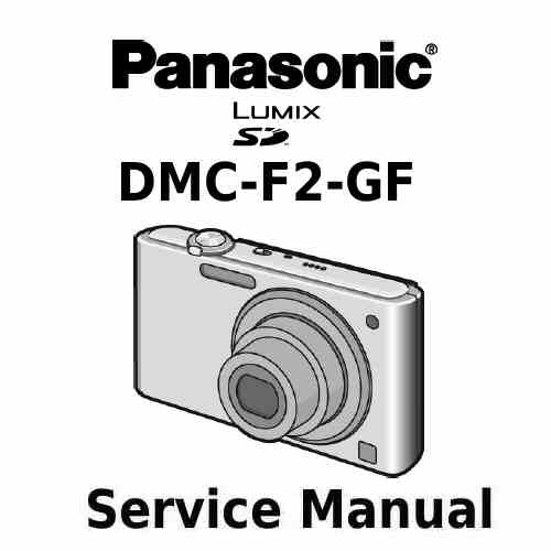 Panasonic Camera Service Manual F2GF