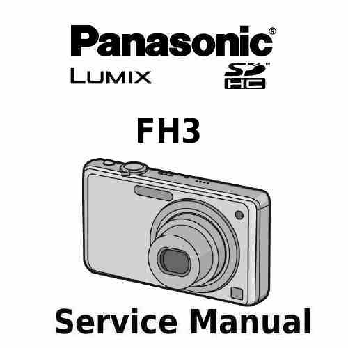Panasonic Camera Service Manual FH3