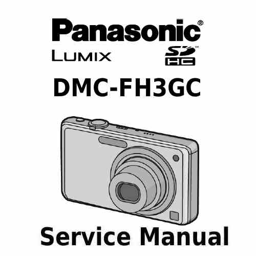 Panasonic Camera Service Manual FH3GC