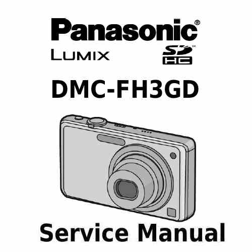 Panasonic Camera Service Manual FH3GD
