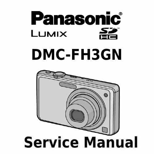 Panasonic Camera Service Manual FH3GN