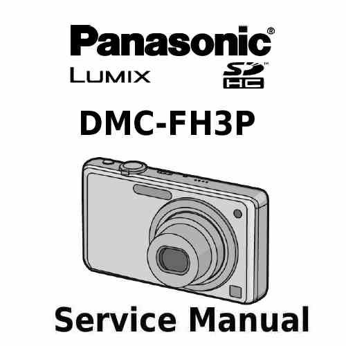 Panasonic Camera Service Manual FH3P