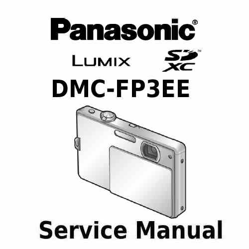 Panasonic Camera Service Manual FP3EE
