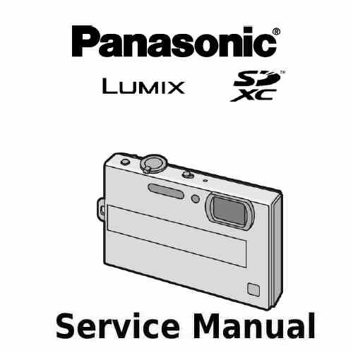 Panasonic Camera Service Manual FP8