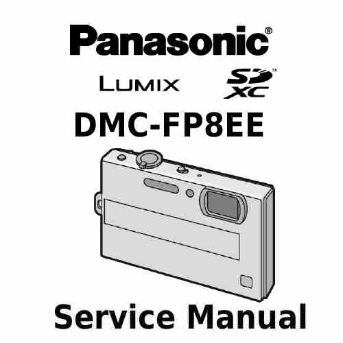 Panasonic Camera Service Manual FP8EE