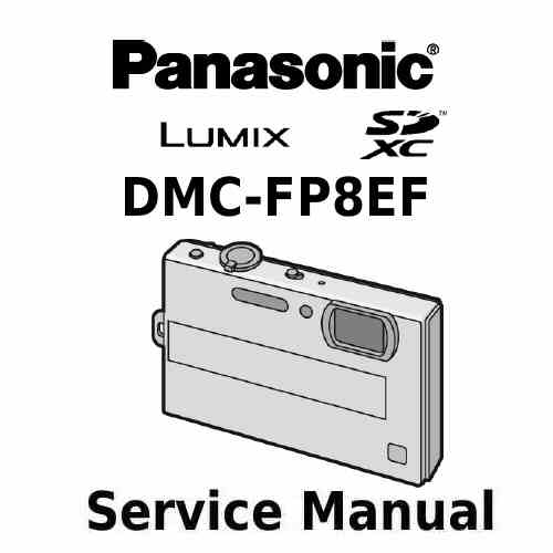 Panasonic Camera Service Manual FP8EF