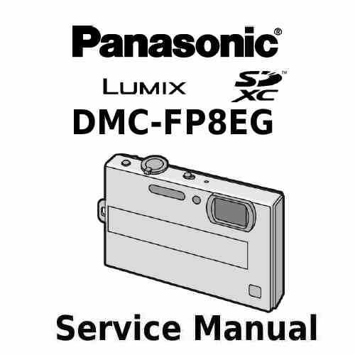Panasonic Camera Service Manual FP8EG