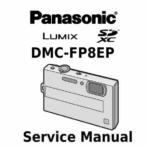 Panasonic Camera Service Manual FP8EP