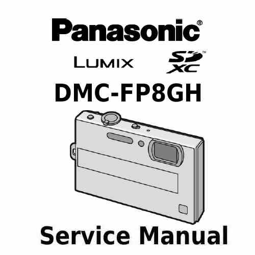 Panasonic Camera Service Manual FP8GH