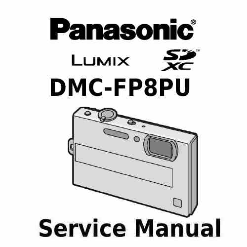 Panasonic Camera Service Manual FP8PU
