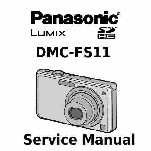 Panasonic Camera Service Manual FS11