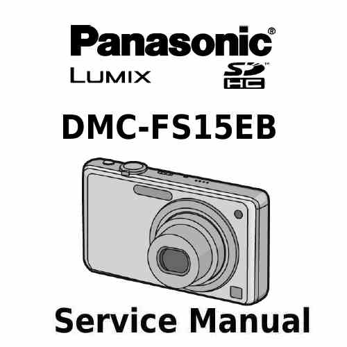 Panasonic Camera Service Manual FS15EB