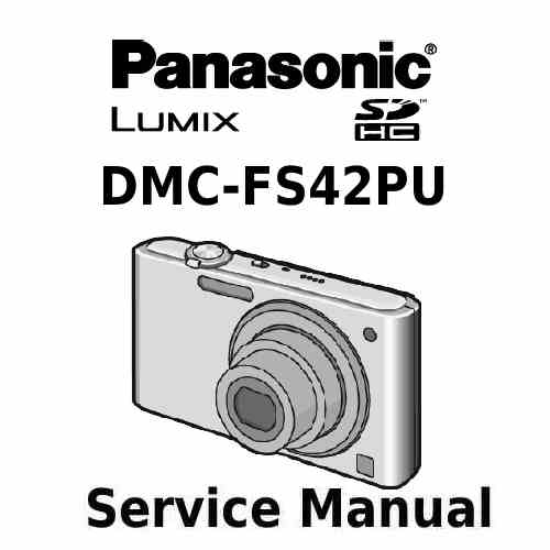 Panasonic Camera Service Manual FS42PU