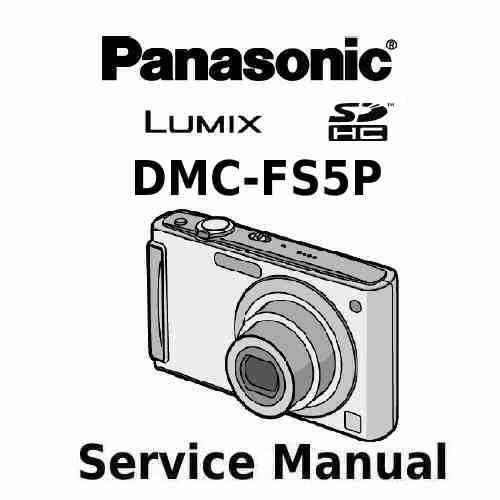 Panasonic Camera Service Manual FS5P
