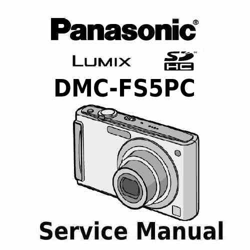 Panasonic Camera Service Manual FS5PC