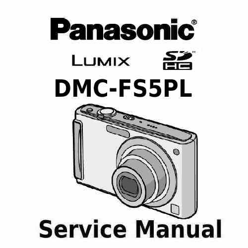 Panasonic Camera Service Manual FS5PL