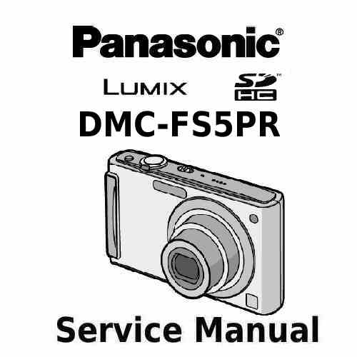 Panasonic Camera Service Manual FS5PR
