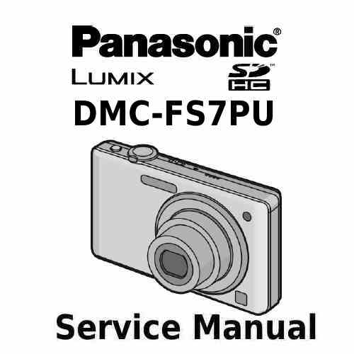 Panasonic Camera Service Manual FS7PU