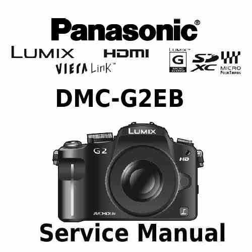 Panasonic Camera Service Manual G2EB