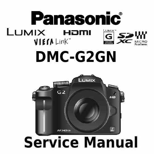 Panasonic Camera Service Manual G2GN