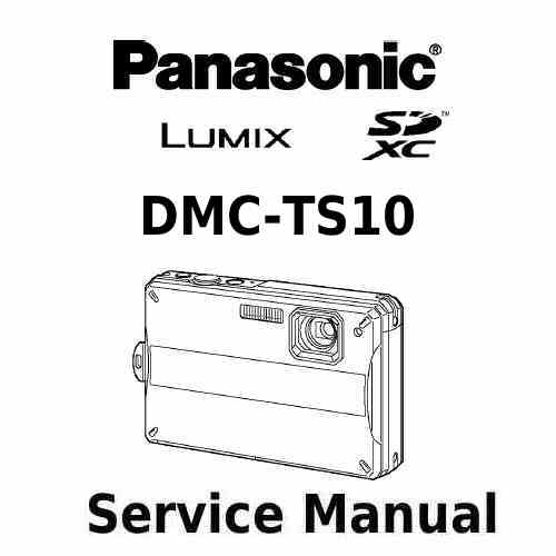 Panasonic Camera Service Manual TS10
