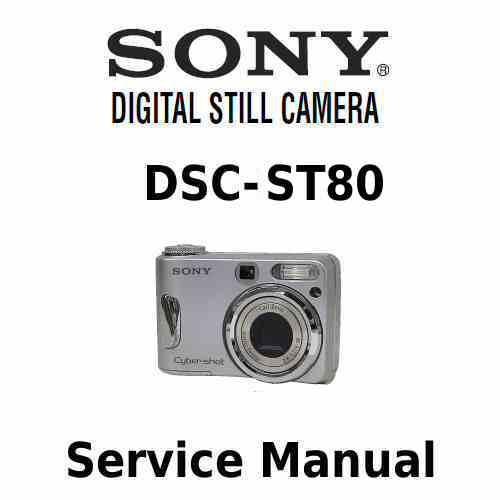 Sony Cybershot DSC T70 Service Manual PDF [sony Cybershot DSC T70 Xcz