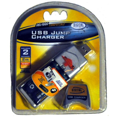 USB powered AA Battery charger