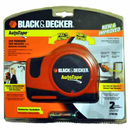 Black and Decker Power Tape 25ft